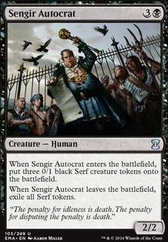Eternal Masters: Sengir Autocrat