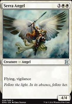 Eternal Masters Foil: Serra Angel