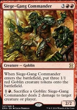 Eternal Masters Foil: Siege-Gang Commander