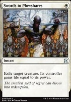 Eternal Masters Foil: Swords to Plowshares
