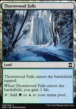 Eternal Masters Foil: Thornwood Falls