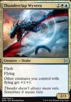 Eternal Masters Foil: Thunderclap Wyvern