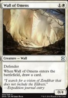 Eternal Masters Foil: Wall of Omens