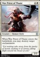 Eternal Masters Foil: War Priest of Thune