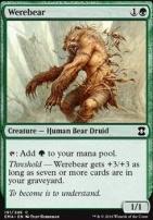 Eternal Masters Foil: Werebear