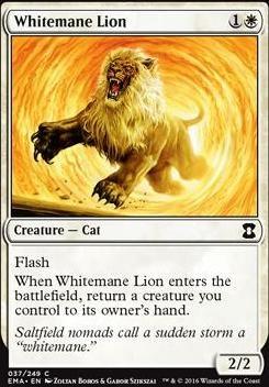 Eternal Masters Foil: Whitemane Lion