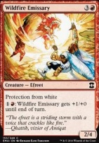 Eternal Masters Foil: Wildfire Emissary