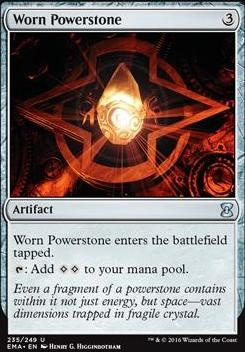 Eternal Masters Foil: Worn Powerstone