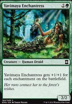 Eternal Masters: Yavimaya Enchantress
