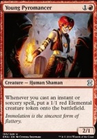 Eternal Masters Foil: Young Pyromancer