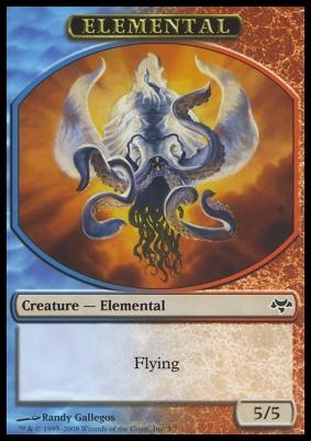 Eventide: Elemental Token