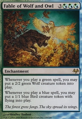 Eventide Foil: Fable of Wolf and Owl