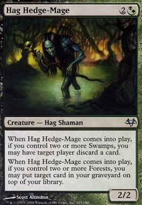 Eventide Foil: Hag Hedge-Mage