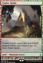 Masterpiece Series: Expeditions: Cinder Glade (BFZ Expeditions Foil)