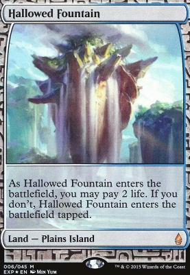 Masterpiece Series: Expeditions: Hallowed Fountain (BFZ Expeditions Foil)