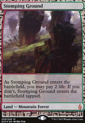 Masterpiece Series: Expeditions: Stomping Ground (BFZ Expeditions Foil)