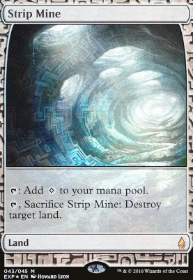 Masterpiece Series: Expeditions: Strip Mine (OGW Expeditions Foil)