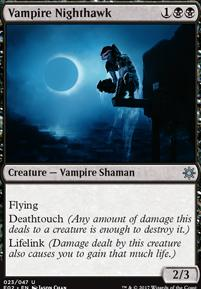 Explorers of Ixalan: Vampire Nighthawk
