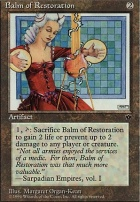 Fallen Empires: Balm of Restoration