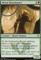 Fate Reforged Foil: Abzan Beastmaster