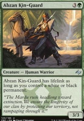 Fate Reforged Foil: Abzan Kin-Guard