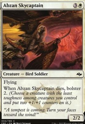 Fate Reforged Foil: Abzan Skycaptain