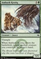 Fate Reforged Foil: Ambush Krotiq