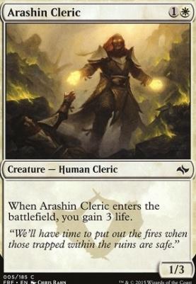 Fate Reforged Foil: Arashin Cleric