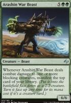Fate Reforged Foil: Arashin War Beast