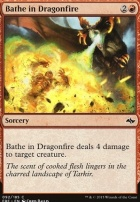 Fate Reforged Foil: Bathe in Dragonfire