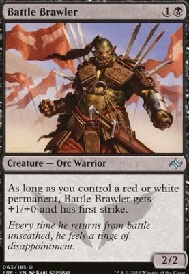 Fate Reforged Foil: Battle Brawler