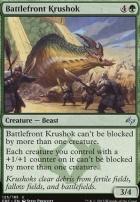 Fate Reforged Foil: Battlefront Krushok