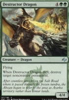 Fate Reforged Foil: Destructor Dragon