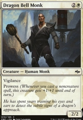 Fate Reforged: Dragon Bell Monk