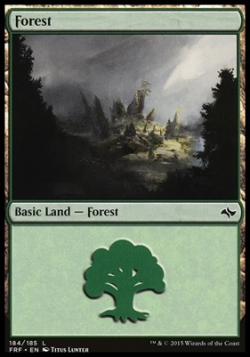 Fate Reforged: Forest (184 A)