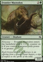 Fate Reforged Foil: Frontier Mastodon