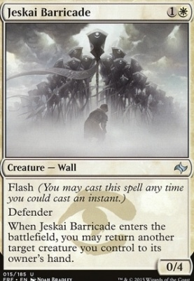 Fate Reforged: Jeskai Barricade
