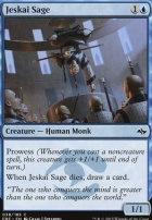 Fate Reforged Foil: Jeskai Sage