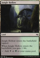 Fate Reforged Foil: Jungle Hollow
