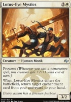 Fate Reforged: Lotus-Eye Mystics