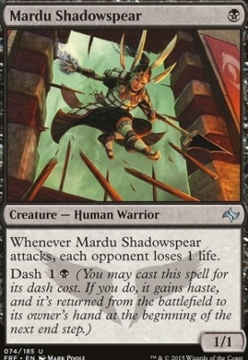 Fate Reforged Foil: Mardu Shadowspear