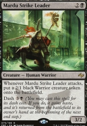 Fate Reforged: Mardu Strike Leader