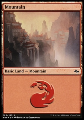 Fate Reforged: Mountain (183 B)