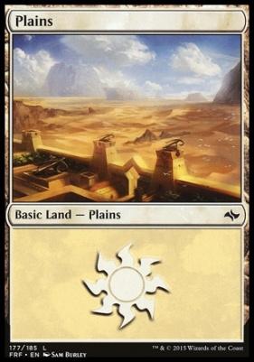 Fate Reforged: Plains (177 B)