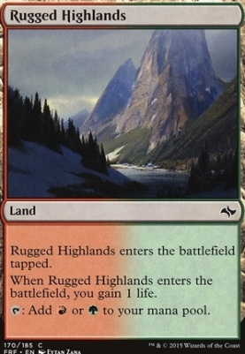 Fate Reforged: Rugged Highlands