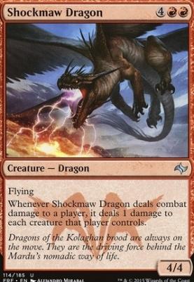 Fate Reforged: Shockmaw Dragon