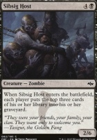Fate Reforged Foil: Sibsig Host