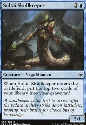 Fate Reforged Foil: Sultai Skullkeeper
