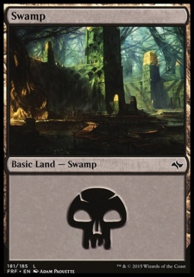Fate Reforged: Swamp (181 B)
