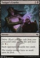 Fate Reforged Foil: Tasigur's Cruelty